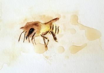 Whiskey Bee by Razor-Crab