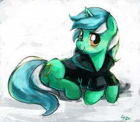 Background Pony - Lyra Heartstrings by ParadoxBroken
