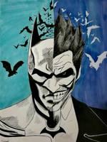 joker batman by salome974