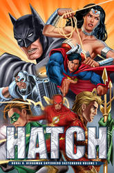 HATCH: Sketchbook Volume. 1 cover by valiantonov