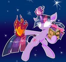 Fury of the Unicorn by TheWormOuroboros