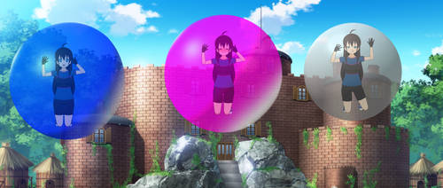 Xeno in New Bubble Effect Test by AiblisTheBig by Anti-Cellman