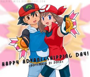 Pokemon AG: Advanceshipping Day 2012 by Vulpixi-Misa