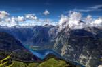 Summer in the Alps by Burtn