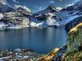 The First Snow by Burtn