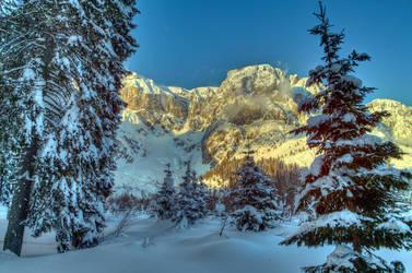 Sun and Snow by Burtn