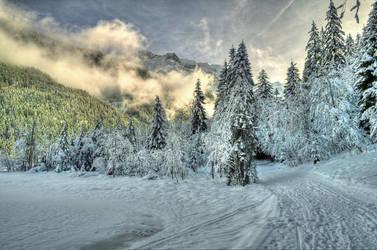 Santa's Track by Burtn