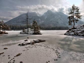 Islands In Ice by Burtn
