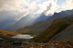 Mystical Mountains by Burtn