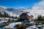 The Cabin Over The Clouds by Burtn