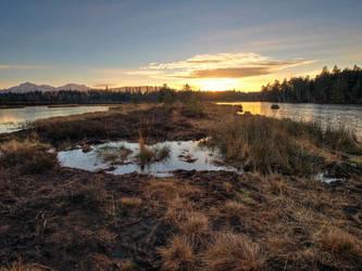 Sunset In The Moor by Burtn