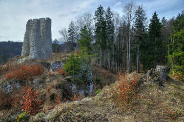 The Old Castle by Burtn