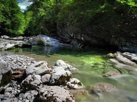 Gentle River by Burtn