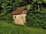 Hidden Old Mill by Burtn