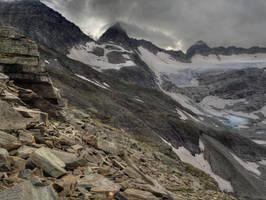 Rock And Glaciers by Burtn
