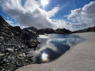 Ice Lake by Burtn