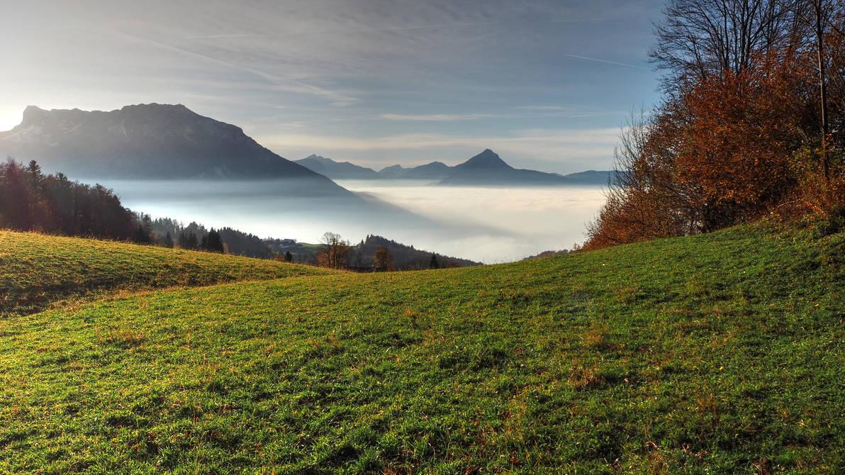 Over The Fog by Burtn