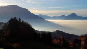Over The Fog 2nd by Burtn