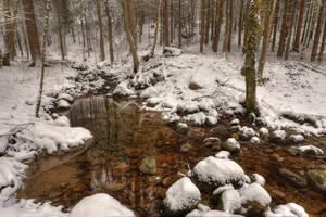 It Was Snowing by Burtn