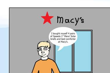 Tobias Bergstrom's Macy's Shopping by DPCBlueFox1991