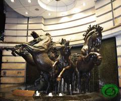 The Fountain of Equidae 01 by Idraemir