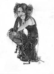 Gothic Doll by Anninhabs
