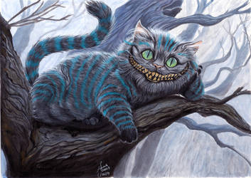 Cheshire Cat by Anninhabs