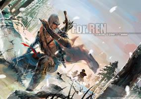 Assassin's Creed 3 Connor by nonamezai