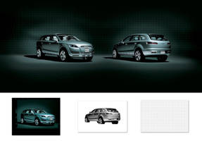 Audi 2008 Q7 by DigitalGreen