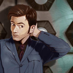 The Tenth Doctor by DigitalGreen
