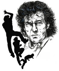 Imran Khan (cricketer) by stephenburger