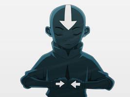 avatar aang by gilbert86II