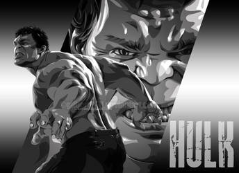 incredible hulk by gilbert86II