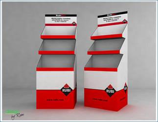 rubi Corrugated box by tinelijah