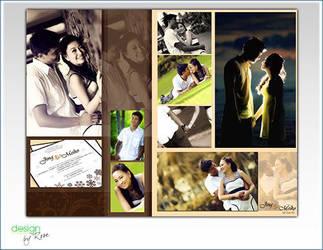 Wedding gift framed by tinelijah