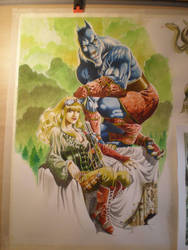 Agramor Wolf man project EMMA last part by Philippe-Bringel