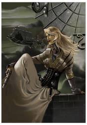 Assassin girl by Philippe-Bringel