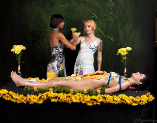 Aug Nyotaimori Variation Smutterfly by Longwatcher