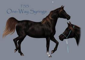 One Way Syringe by Mondpferd