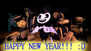 Happy New Year 2018! (BATIM) (feat. 39) by Clawort-Animations