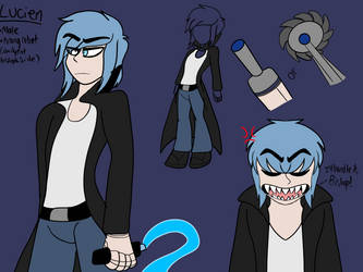 New oc: Lucien by ArtisticMadiDel