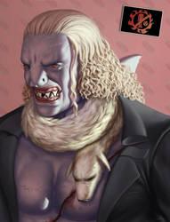 One Piece Villains: Hody Jones by 2tall4yall