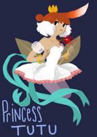 Princess Tutu redesign by missbooyaka