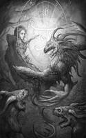 The Skull throne- A Whisper of Night by DominikBroniek