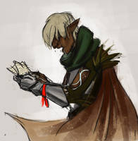 I should be the one to tell Fenris by xLacie