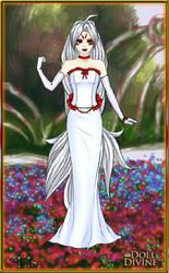 Amaterasu of Okami as a human. by ladyphantomofmusic