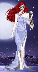 Undead Ariel by ladyphantomofmusic