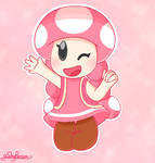Toadette by aShyPerson