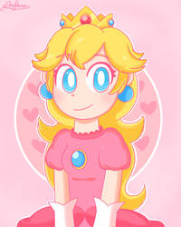 Princess Peach by aShyPerson