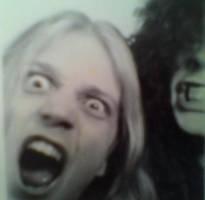 Pelle and Slator ex bassist of Morbid by lilg9